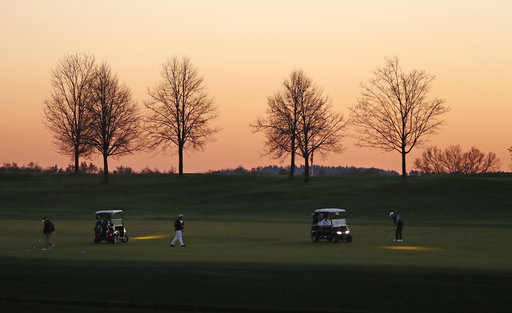 Vandals take chainsaws to trees at Donald Trump's Bronx golf course