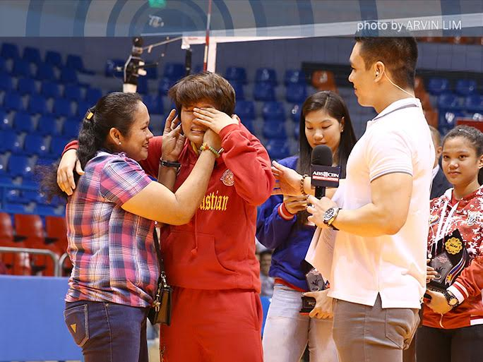 Volleyball stars' Mother's Day greetings