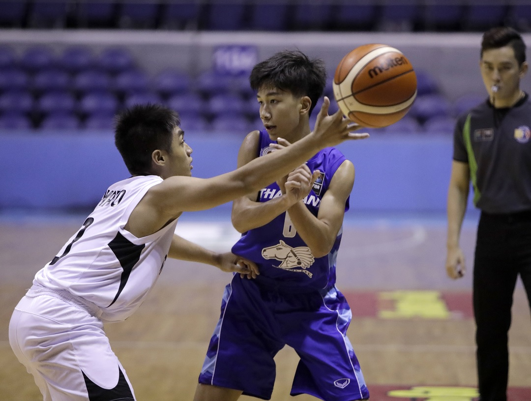 Thailand goes back home with a bronze in SEABA U16