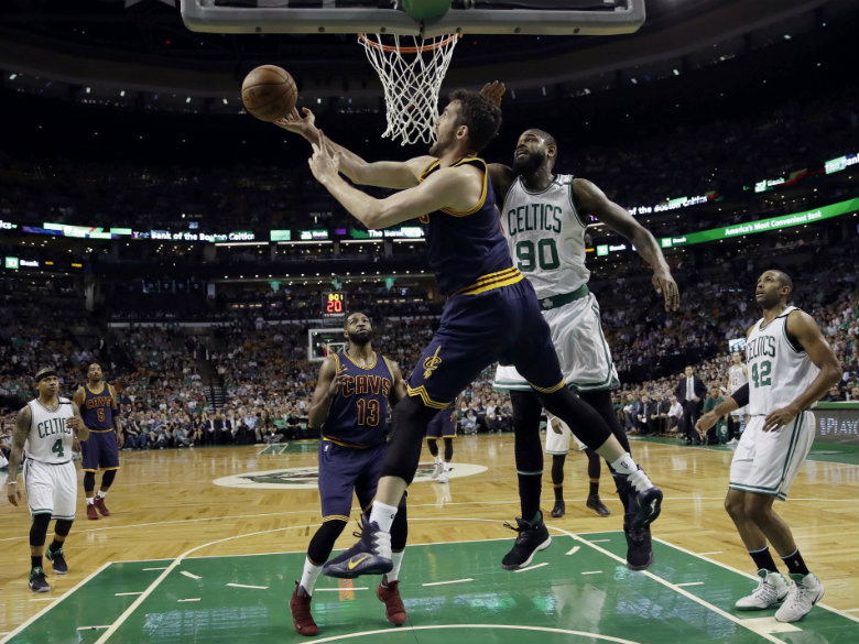 Cavaliers show Celtics a lot of Love