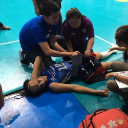 Lady Warriors looking to rest Pablo until the end of prelims
