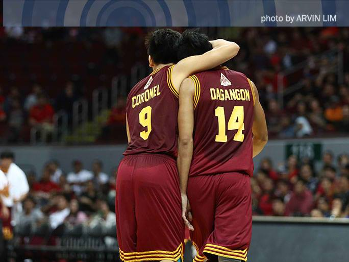 Dagangon helps Altas survive Letran in OT for first win
