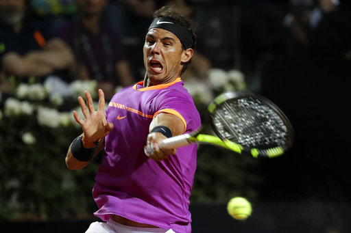 Nadal suffers first clay loss in Rome