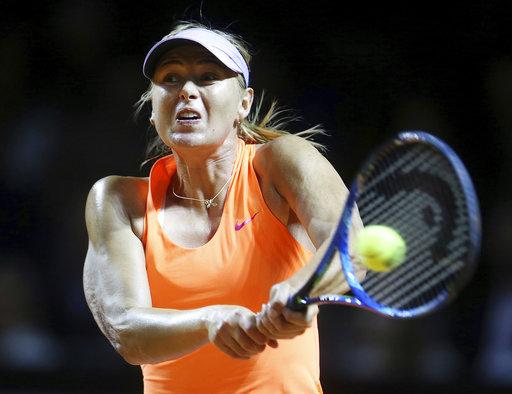 Sharapova receives wild card into pre-Wimbledon event