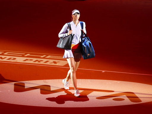 Column: Shed no tears for Sharapova in fight against doping