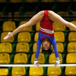 Pinay gymnasts fall to powerhouse teams in Asian Seniors