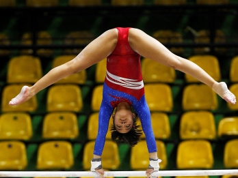 Pinay gymnasts fall to powerhouse teams in Asian Seniors