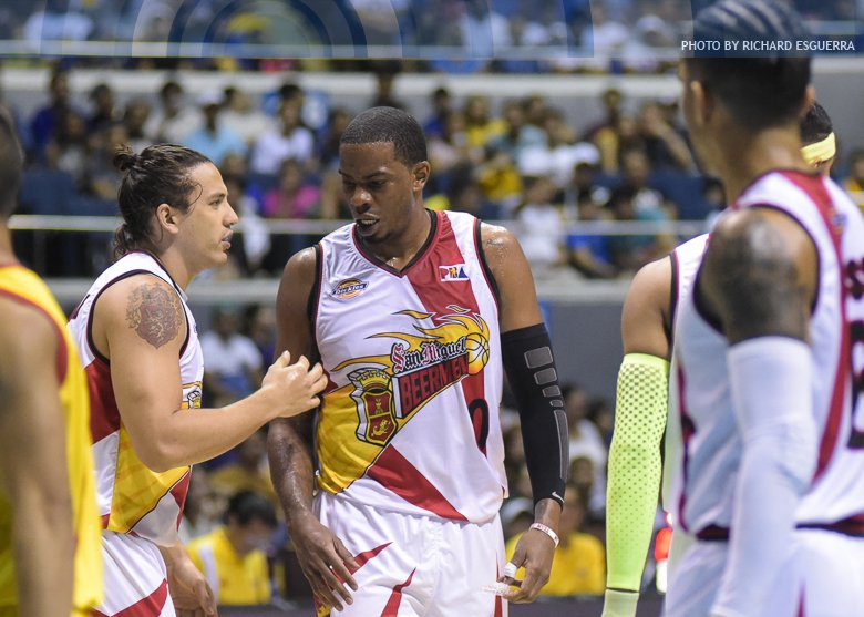 Quarterfinals-bound Beermen bury Road Warriors to 0-9 slate