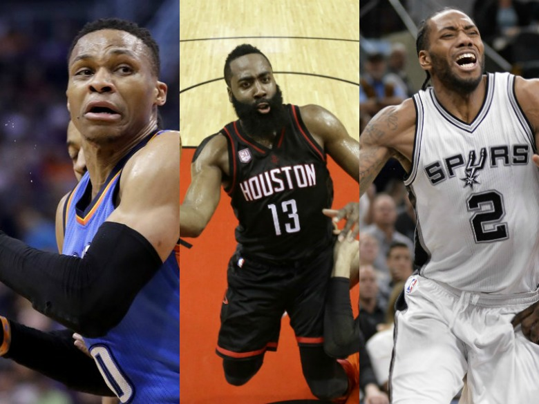 Westbrook, Harden, Leonard the finalists for MVP