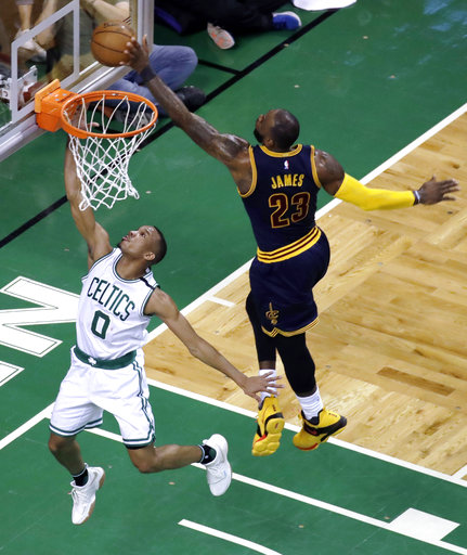 Cavs send Celtics to record loss, 130-86, lead series 2-0