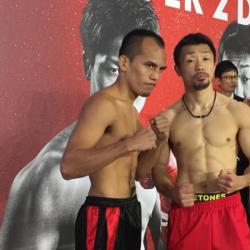 Melindo, Yaegashi make weight for world title bout