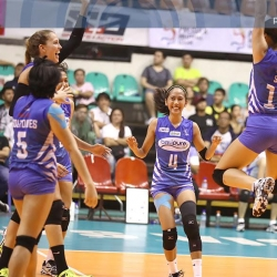 Water Defenders outlast Spikers, inch closer to a semis slot