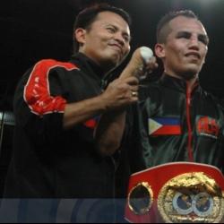 Melindo TKOs Yaegashi to capture world championship