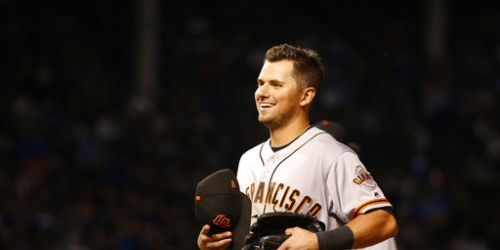 Panik homers as Giants beat Cubs 6-4