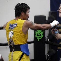 Manny Pacquiao's coach wary of Jeff Horn's punching power