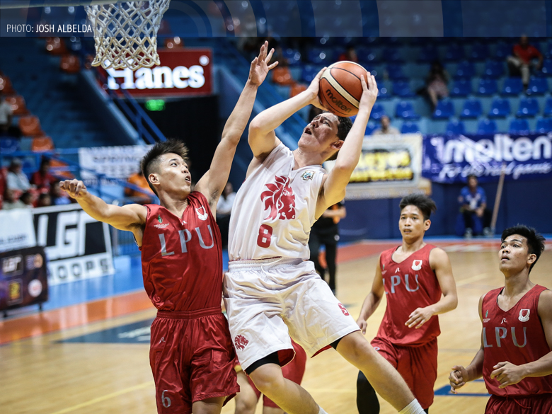 Debuting San Beda takes shine off of Perez-led LPU