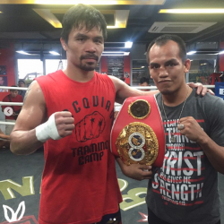 New champ Melindo meets eight-division champ Pacquiao