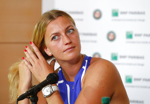 Kvitova to make return at French Open after attack