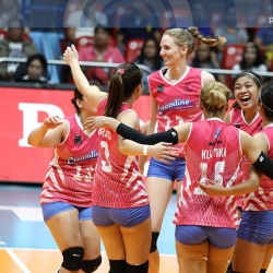 Cool Smashers outlast Spikers in quarters opener