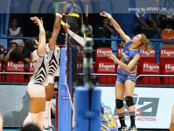 Perlas Spikers, Jet Spikers fight for survival