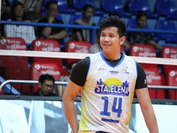 Paglinawan is a product of volleyball royalty