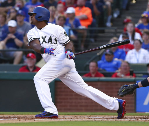 Beltre makes season debut for Rangers