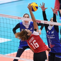 Pinay spikers relegated in the battle for 7th spot