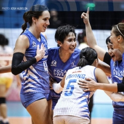 Lady Warriors outlast Power Smashers in semis opener