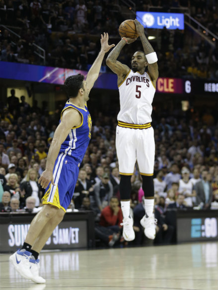 The Finals Stat: Game 4 - Cavs catch fire from deep | ABS ...