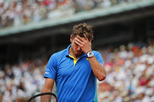 Nothing goes right for Wawrinka in French Open loss to Nadal