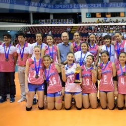 Cool Smashers end club volleyball debut with bronze medal