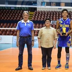 PVL MVP banners men's national volleyball team Final 12