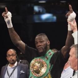 Boxing champion Wilder charged with marijuana possession
