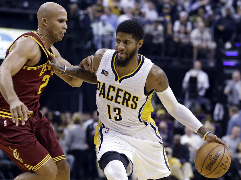 AP Sources: George informs Pacers he will leave in 2018