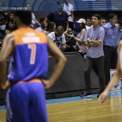 Nash is front and center in first PBA Finals as head coach