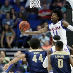 Kansas' Jackson, Duke's Tatum headline forwards in NBA draft