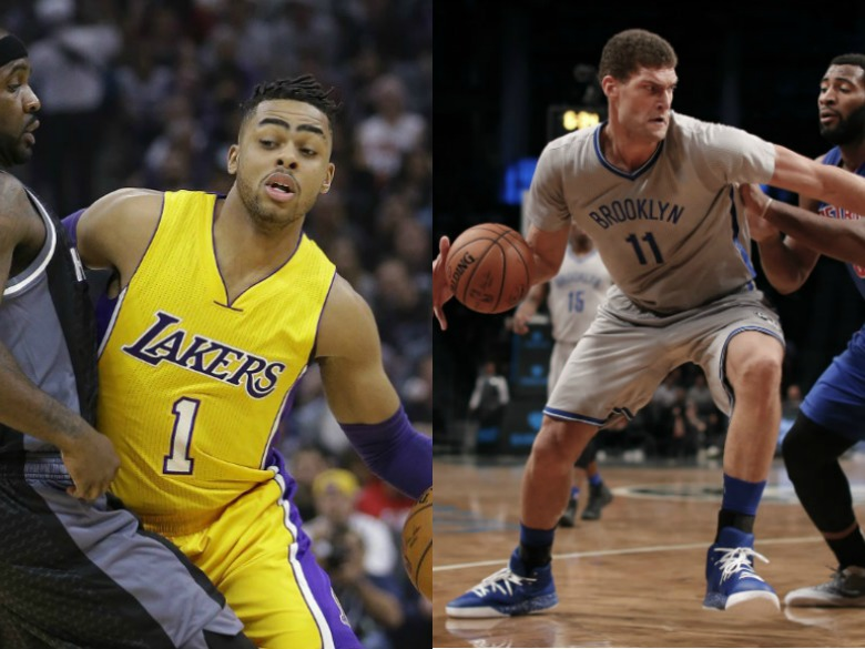 Lakers Send D'Angelo Russell To Brooklyn For Brook Lopez