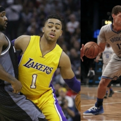 Lakers flip Russell, Mozgov for Nets' Lopez - report