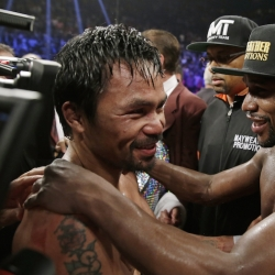 Pacquiao says 'Money' fight still possible