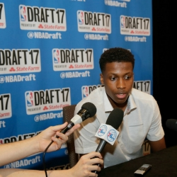 French point guard Frank Ntilikina sees good fit with Knicks