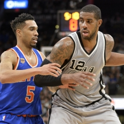 Spurs reportedly shopping Aldridge for top-10 pick
