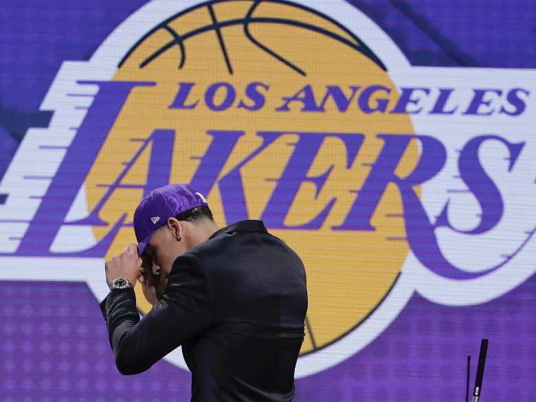 Family affair: Lakers grab Lonzo Ball with 2nd overall ...