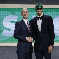 Celtics go with Jayson Tatum at No. 3