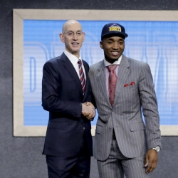 Jazz trade with Nuggets to get No. 13 pick Donovan Mitchell