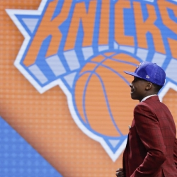 Knicks look overseas for help with No 8 pick