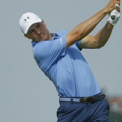 Jordan Spieth shoots 63 to take lead in Travelers debut