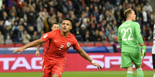 Sanchez scores early but Chile held by Germany to a 1-1 draw