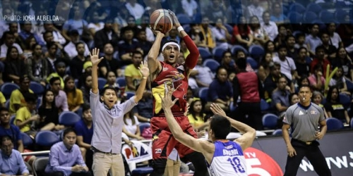 Arwind left fuming after Pogoy's apparent low blow