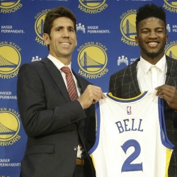 Warriors newbie Jordan Bell gets call from Draymond Green