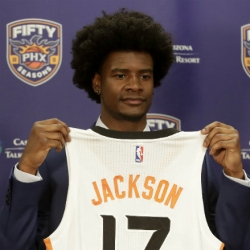 Suns thrilled to get Jackson with fourth pick in draft